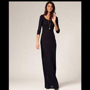 Asos Blacked Ribbed Sweater Dress
